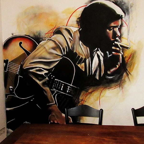 mural Wes Montgomery